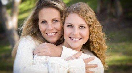 Отношения мамы с дочерью-подростком