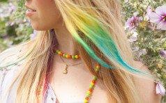 Покраска кончиков волос. Варианты и их особенности